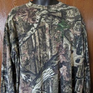 Liberty XL Long Sleeve T-Shirt Brown Camoflauge